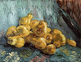 Still Life with Quinces, 1888 by Vincent van Gogh | Painting Reproduction
