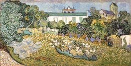 Daubigny's Garden, 1890 by Vincent van Gogh | Painting Reproduction