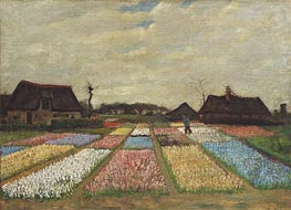 Flower Beds in Holland | Vincent van Gogh | Painting Reproduction