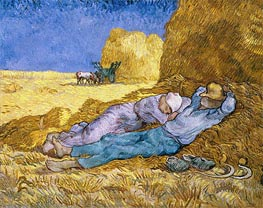 Noon (Rest from Work) | Vincent van Gogh | Painting Reproduction