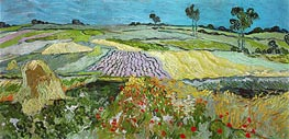 Fields near Auvers | Vincent van Gogh | Painting Reproduction