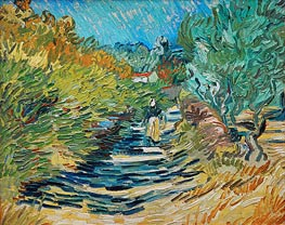 The Road to Saint-Remy | Vincent van Gogh | Painting Reproduction