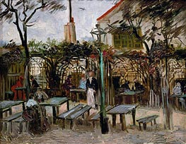 Pleasure Gardens at Montmartre | Vincent van Gogh | Painting Reproduction