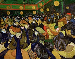 The Dance Hall at Arles (Ball in Arles) | Vincent van Gogh | Gemälde Reproduktion