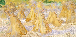 Sheaves of Wheat | Vincent van Gogh | Painting Reproduction