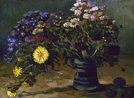 Still Life with a Bouquet of Daisies | Vincent van Gogh | Painting Reproduction