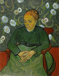 La Berceuse (Portrait of Madame Roulin) | Vincent van Gogh | Gemälde Reproduktion