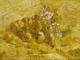 Quinces, Lemons, Pears and Grapes | Vincent van Gogh | Gemälde Reproduktion