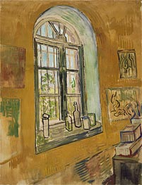 Window in the Studio | Vincent van Gogh | Painting Reproduction