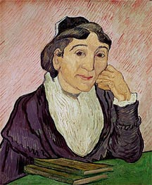 L'Arlesienne (Madame Ginoux) | Vincent van Gogh | Painting Reproduction