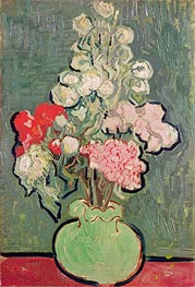 Bouquet of Flowers, 1890 von Vincent van Gogh | Gemälde-Reproduktion