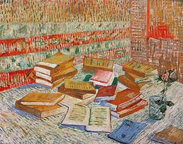 The Yellow Books (Parisian Novels) | Vincent van Gogh | Painting Reproduction
