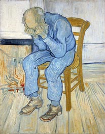 Old Man in Sorrow (On the Threshold of Eternity) | Vincent van Gogh | Painting Reproduction