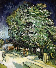 Chestnut Trees in Blossom, Auvers-sur-Oise | Vincent van Gogh | Painting Reproduction
