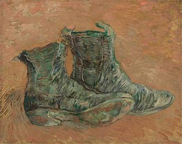 Shoes, 1887 by Vincent van Gogh | Painting Reproduction