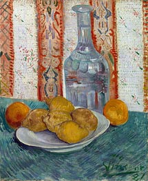 Carafe and Dish with Citrus Fruit | Vincent van Gogh | Painting Reproduction