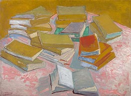 Piles of French Novels | Vincent van Gogh | Painting Reproduction