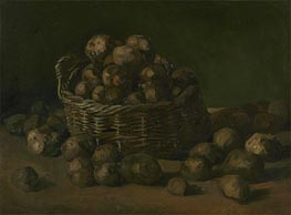 Basket of Potatoes, 1885 by Vincent van Gogh | Painting Reproduction