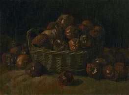 Basket of Apples | Vincent van Gogh | Painting Reproduction