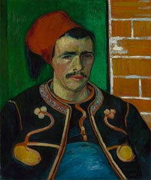 The Zouave | Vincent van Gogh | Painting Reproduction