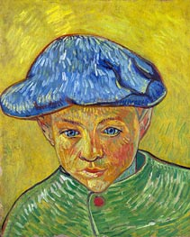 Portrait of Camille Roulin | Vincent van Gogh | Painting Reproduction