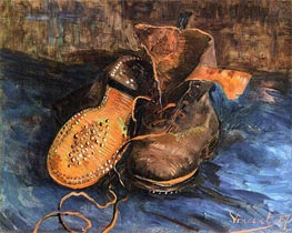 A Pair of Boots | Vincent van Gogh | Painting Reproduction