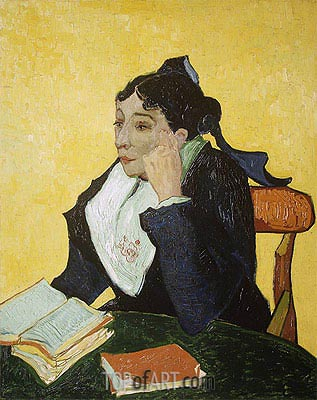 L'Arlesienne: Madame Joseph-Michel Ginoux, c.1888/89 | Vincent van Gogh | Painting Reproduction