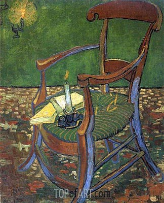 Paul Gauguin's Arm Chair, 1888 | Vincent van Gogh | Painting Reproduction
