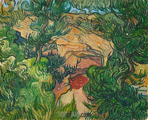 Entrance to a Quarry, 1889 | Vincent van Gogh | Painting Reproduction