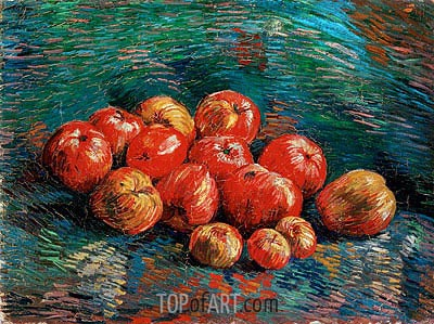 Still Life with Apples, 1887 | Vincent van Gogh | Painting Reproduction