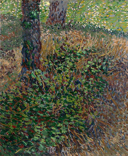 Undergrowth, 1887 | Vincent van Gogh | Painting Reproduction