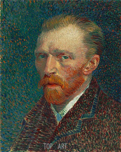 Self-Portrait, 1887 | Vincent van Gogh | Painting Reproduction