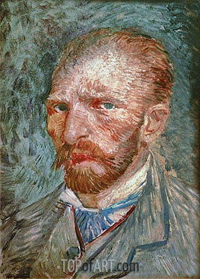 Self Portrait, 1887 | Vincent van Gogh | Painting Reproduction