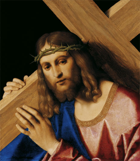 Christ Bearing the Cross, c.1520/30 | Vincenzo di Biagio Catena | Painting Reproduction