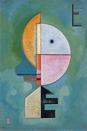 Upward, 1929 by Kandinsky | Painting Reproduction