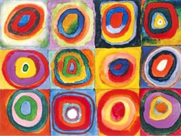 Concentric Circles, 1913 by Kandinsky | Painting Reproduction