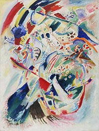 Panel for Edwin R. Campbell No. 4, 1914 von Kandinsky | Gemälde-Reproduktion