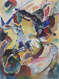 Panel for Edwin R. Campbell No. 2, 1914 by Kandinsky | Painting Reproduction