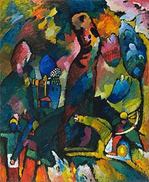 Picture with an Archer | Kandinsky | Painting Reproduction
