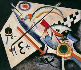 White Cross | Kandinsky | Painting Reproduction