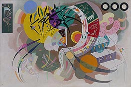 Dominant Curve, 1936 by Kandinsky | Painting Reproduction