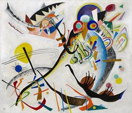 Blue Segment | Kandinsky | Painting Reproduction