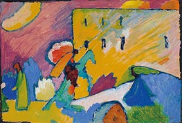 Study for 'Improvisation 3' | Kandinsky | Painting Reproduction