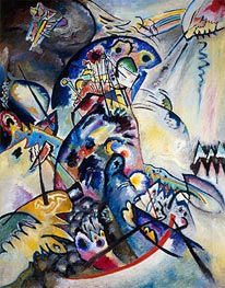 Blue Comb | Kandinsky | Painting Reproduction