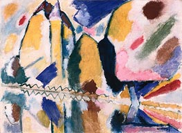 Autumn II | Kandinsky | Painting Reproduction