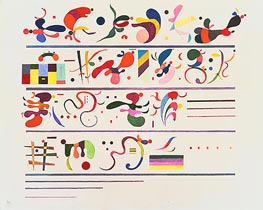 Succession | Kandinsky | Painting Reproduction