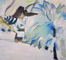 Winter Landscape | Kandinsky | Painting Reproduction