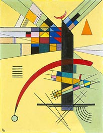 Small Yellow | Kandinsky | Painting Reproduction