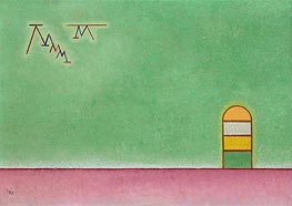Green Vacancy, 1930 by Kandinsky | Painting Reproduction