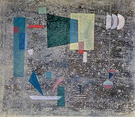 Slow Emission | Kandinsky | Painting Reproduction